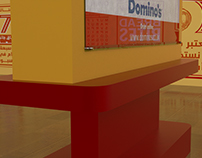 Dominos Offer stand