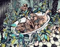 Rich Ducks | Personal Illustration