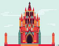 MÉXICO arquitectura y monumentos II