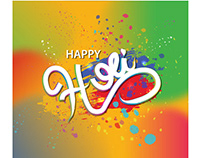 holi vector download