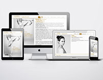 Website for the event Royal Jewellery 2012
