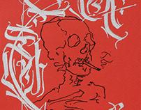 Yaka Calligraphy - Inktober 2019