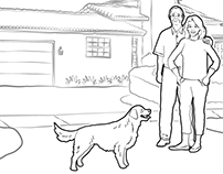 Real Estate Agent Television Commercial: Storyboard