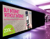 Banner Design | Free Facebook | ZONG 4G A NEW DREAM