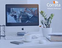 Corrata - UX/UI Website Redesign