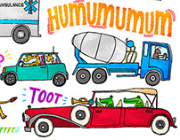 Onomatopoeia Vehicles