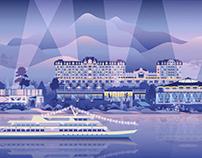 Montreux Jazz Fest Illustration