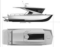 Project of boat interior KS-Trim 650