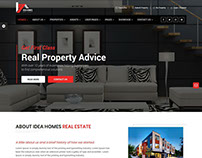 Idea Home Real Estate Template