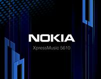 NOKIA XpressMusic 界面设计