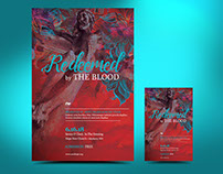 Redemption Blood Flyer Poster Template