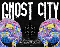 ATTACK DK 'ghost city' album cover