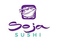 Soja Sushi - Logotipo + Branding