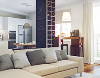 Four-room apartment in Minsk
