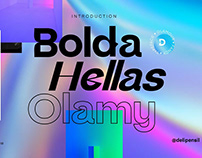 Coldag - Display Font