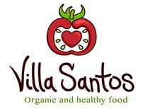 Concepto de logo Villa Santos