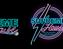SUPREME HOUSE | LOGO TREATMENT