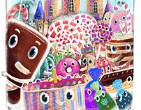Страна тортов иллюстрации к книге