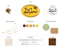 Branding for D'Cacao Repostería & Chocolatería