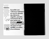 L'intelligence émotionnelle – Editorial design