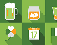 Sait Patricks Day Icons