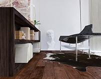 Interior design project _ Apartment in Krunska,Belgrade