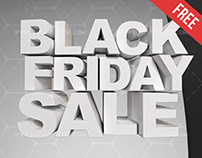 Black Friday Sale – Free 3d Render Templates