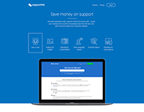 Supportmix landing page