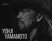Сайт-биография Yohji Yamamoto