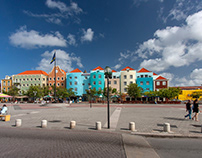 Curacao's World Heritage Site & Camera Spot Photo Galle