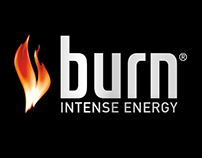 Burn Energy Drink Print
