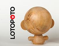 LOTOPOTO                figura personalizable en madera