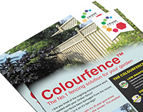 Colourfence Advertisement