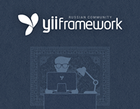 YiiFramework.ru - Website design Russian Yii community