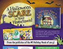 A Halloween Scare at My House book series mailer