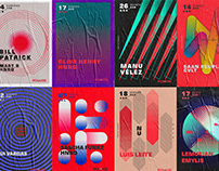 Posters and Identity for RiveRouge - Part I