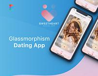 Glassmorphism Dating App
