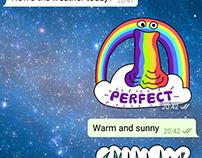 Telegram stickers (25 000 active users)