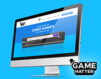 GameHatter | Website Design