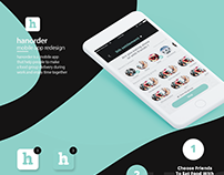 Hanorder- Mobile app. UI Redesign