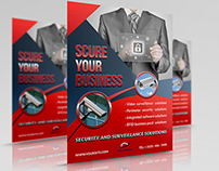 Security System Flyer Template
