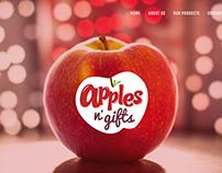 Apples N' Gits - Sitio web
