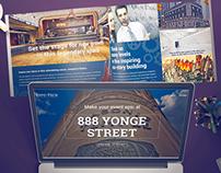 Info-Tech - 888 Yonge Street Promo Website & Brochure