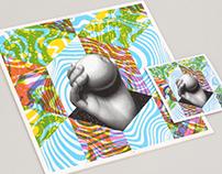 Delta Venus, LP. Album art