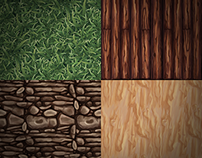Tileable Hand-painted Textures