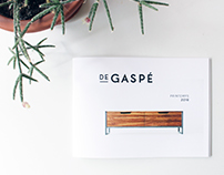 De Gaspé - Catalogue 2016