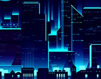 Poster Artwork CyberLights サイバーライト