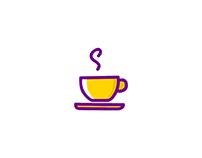 MBE style (cafe icons) illustration