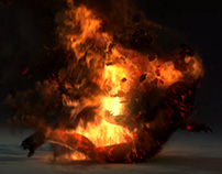 Character Based Ash Effects
