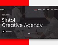 Sintol - Creative Agency Website
